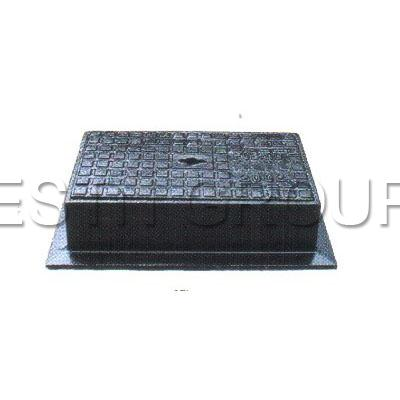 GRADE A2 HEAVY DUTY D.I. RECT.SURFACE BOX AND COVER